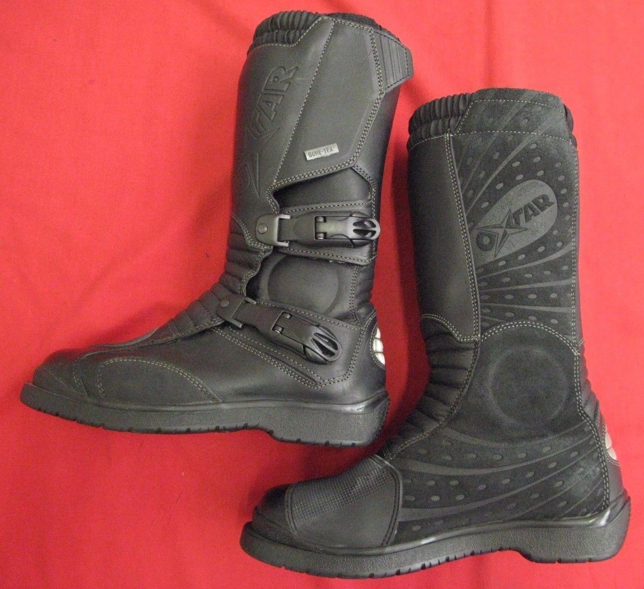 INFINITY GORETEX LEATHER ADVENTURE MOTORCYCLE BOOTS EU 38 UK 5
